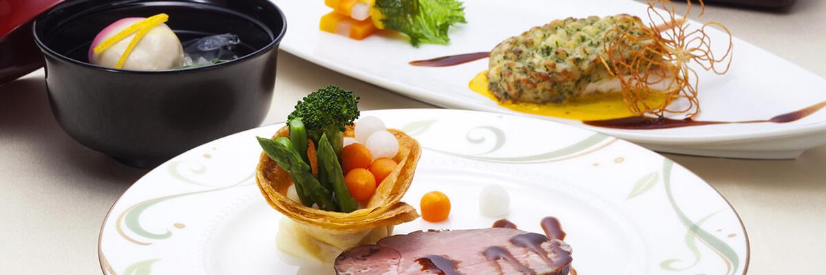 料理|和洋折衷料理|レンブラントホテル海老名【公式】婚礼サイト