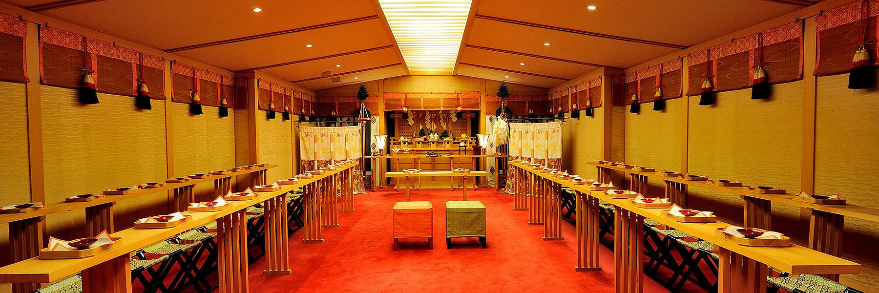 挙式|神前式|レンブラントホテル海老名(旧オークラフロンティアホテル海老名)【公式】婚礼サイト