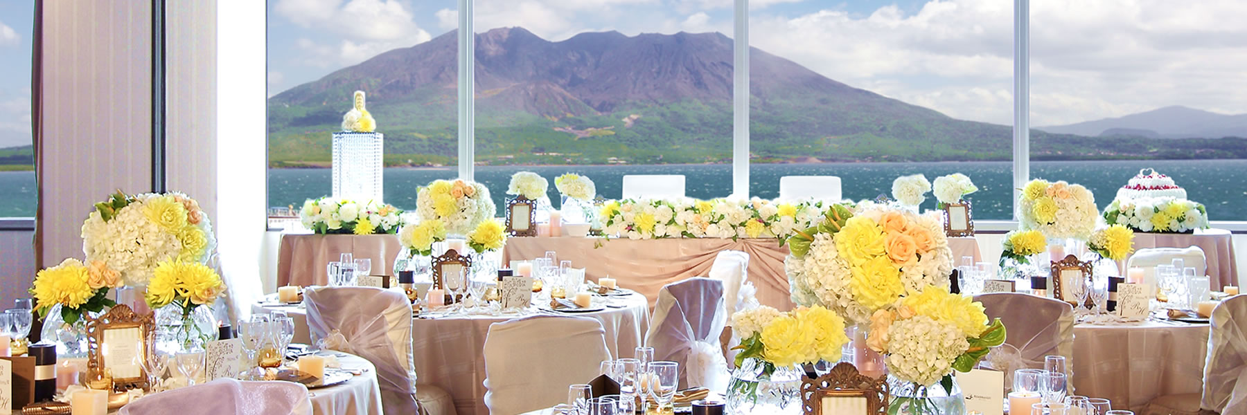 大隅|披露宴会場|レンブラントホテル鹿児島【公式】婚礼サイト