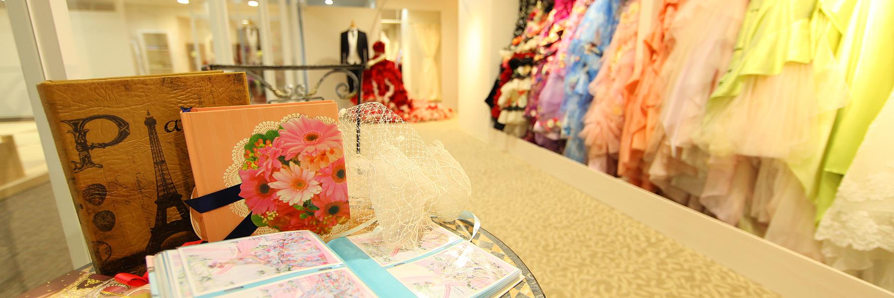 ドレス & ビューティ|レンブラントホテル鹿児島【公式】婚礼サイト