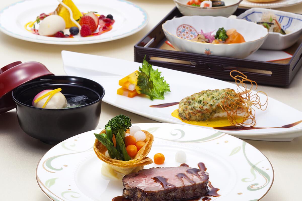 和洋折衷料理<br />French & Japanese