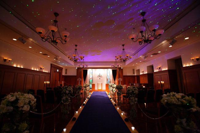 挙式|プライムチャペル|レンブラントホテル海老名(旧オークラフロンティアホテル海老名)【公式】婚礼サイト