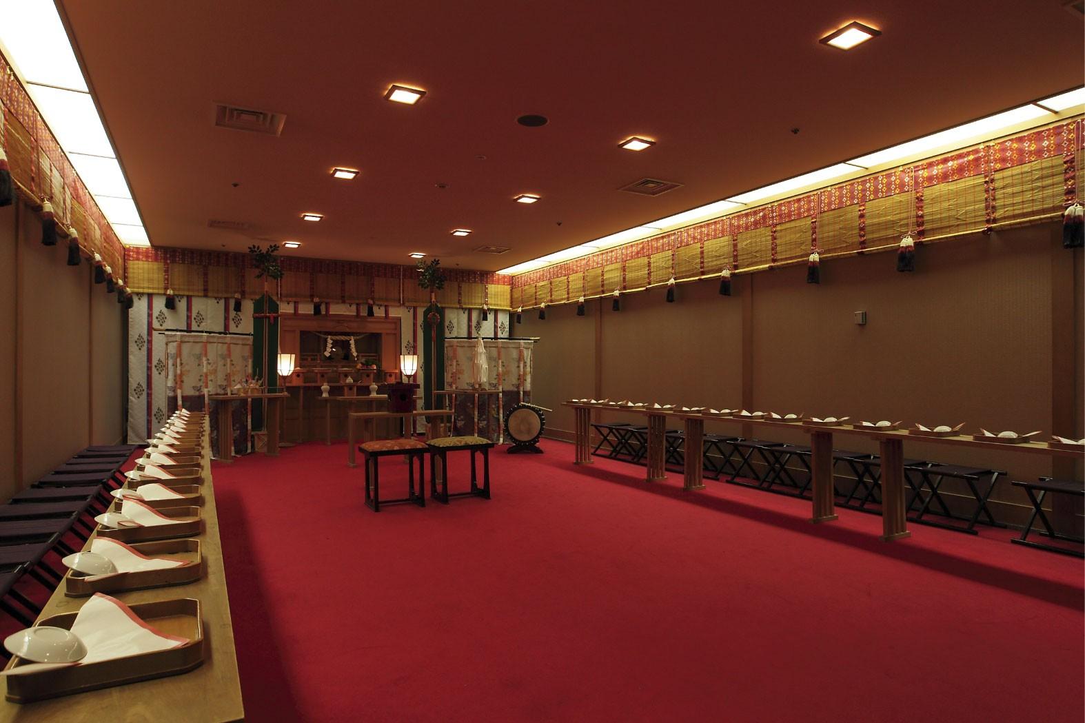 レンブラントホテル鹿児島|神殿